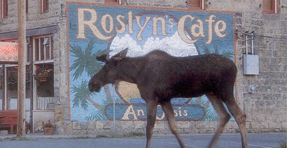 Opening scene of Northern Exposure
